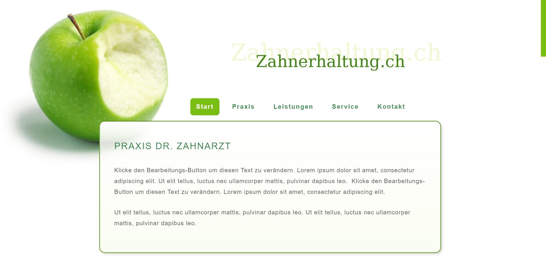 Zahnerhaltung.ch